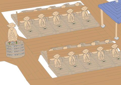 地蔵葬イメージ